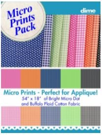 Micro Prints Fabric Pack, by DIME