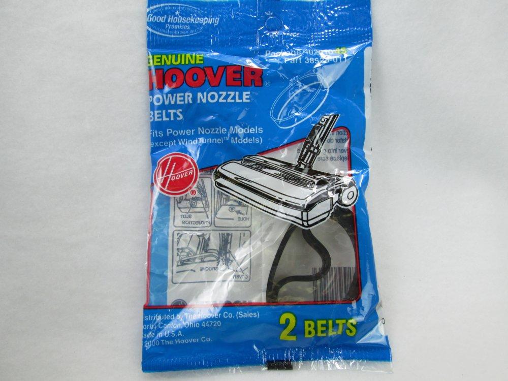 Hoover Power Nozzle Belts 40201045 part #38528-011