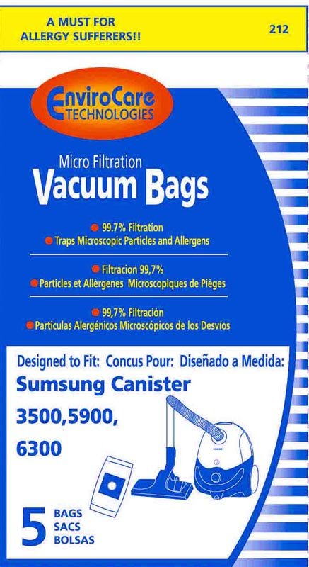 SAMSUNG VP-95BF Style Bags EnviroCare #212