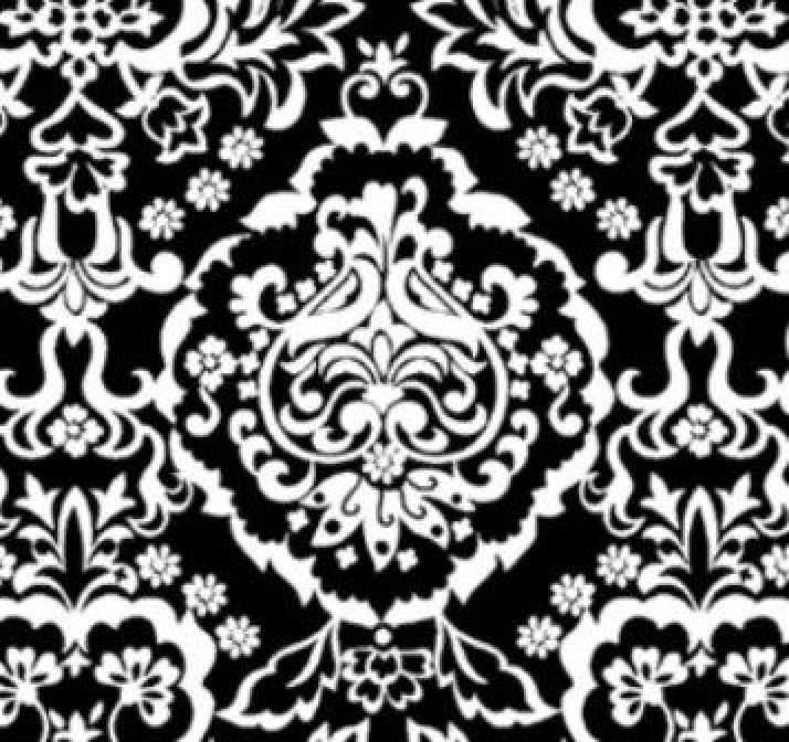 Black & White Baroque  DT-8312-8C