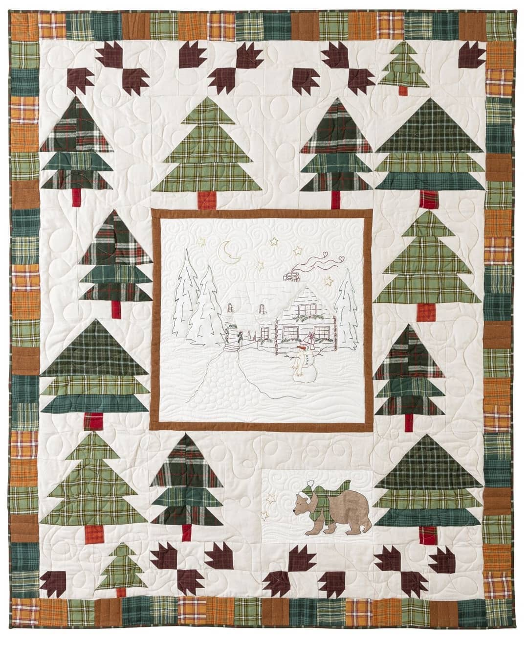 Woodland Getaway Quilt Kit