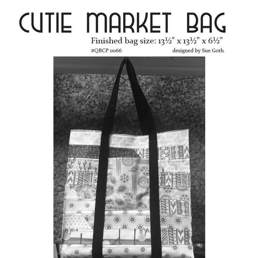 Cutie Pattern Market Bag