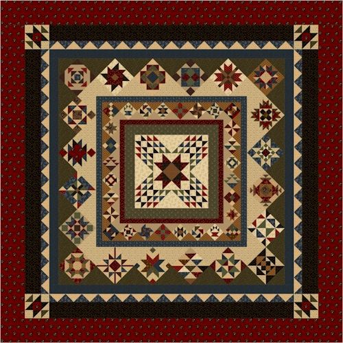Forevermore Block of the Month Quilt