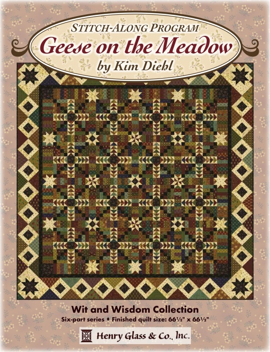 Geese on the Meadow Block of the Month