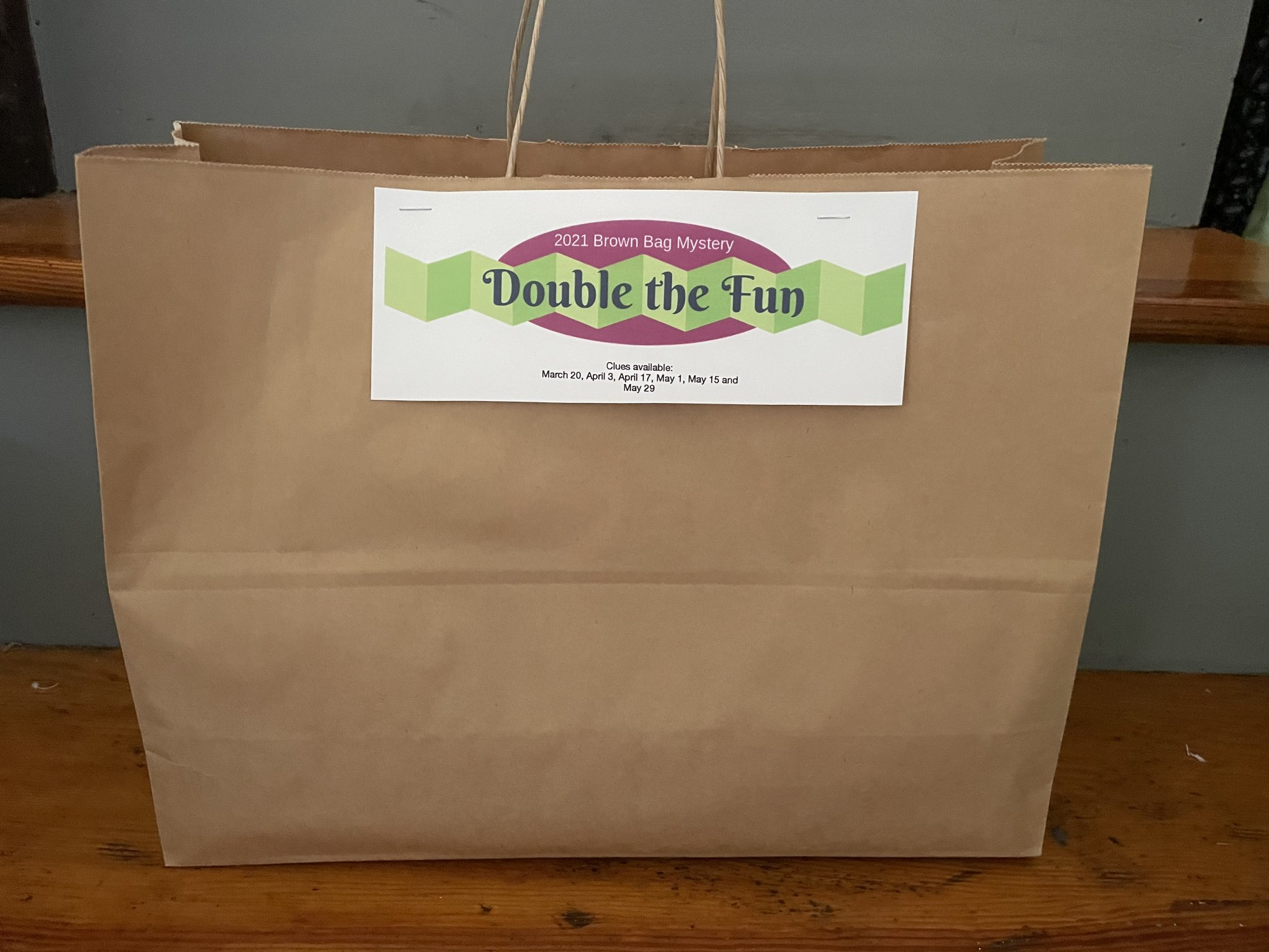 2021 Brown Bag Mystery 2021: Double the Fun