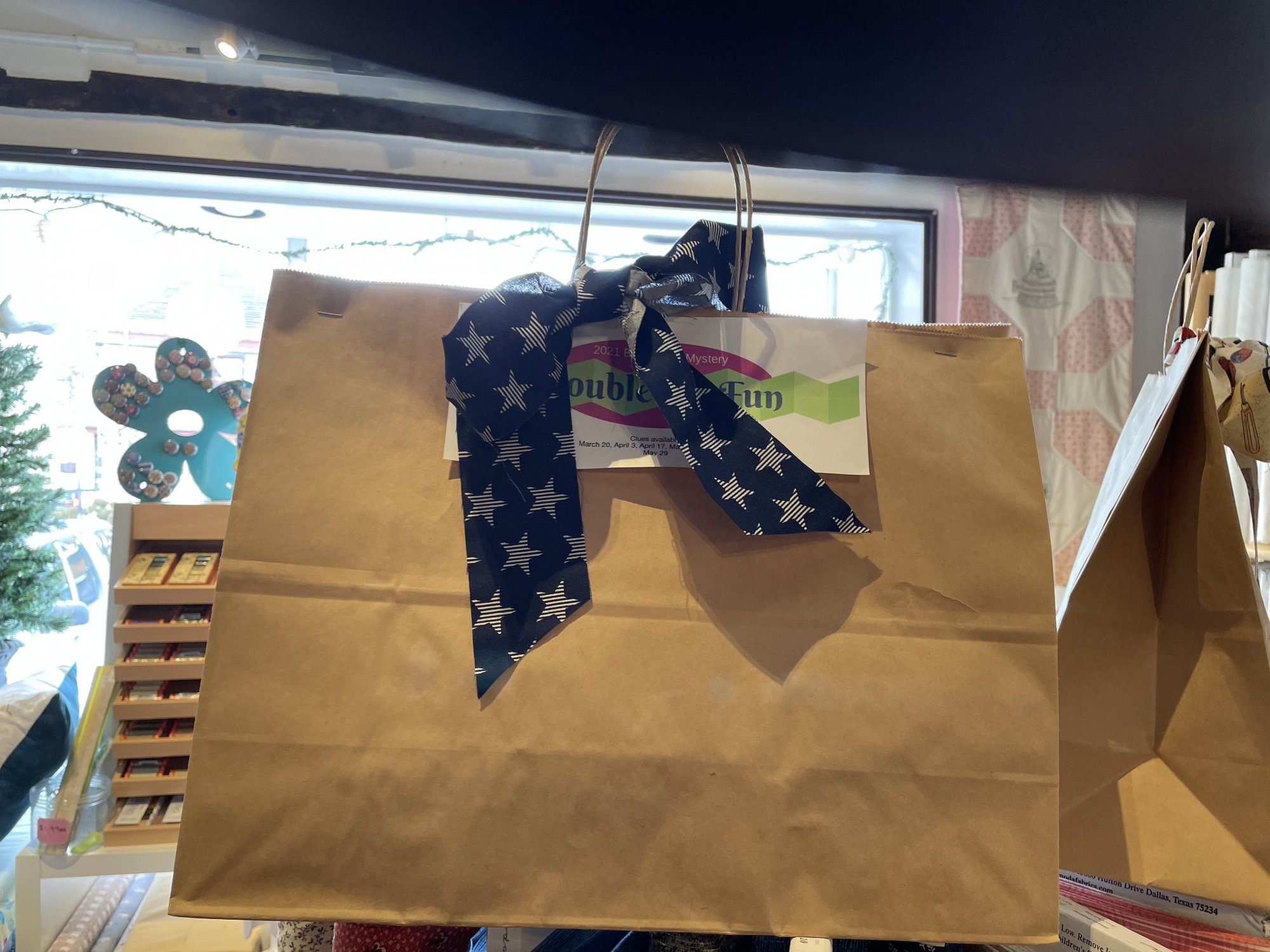 Double the Fun Brown Bag Mystery:Old Glory