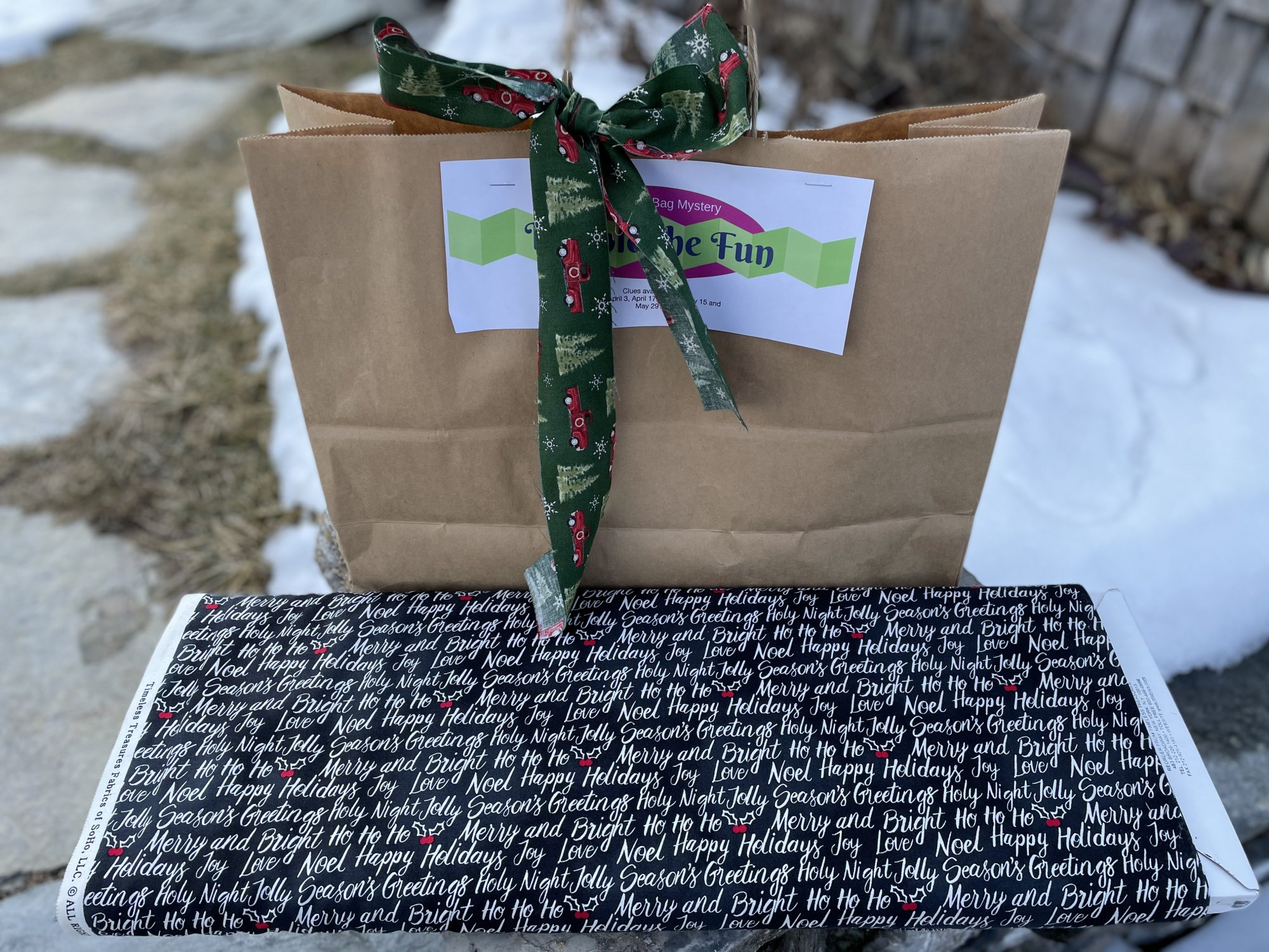 Double the Fun Brown Bag Mystery: Christmas - Queen Size