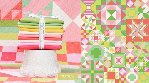 My Color is Moda: Primrose Garden