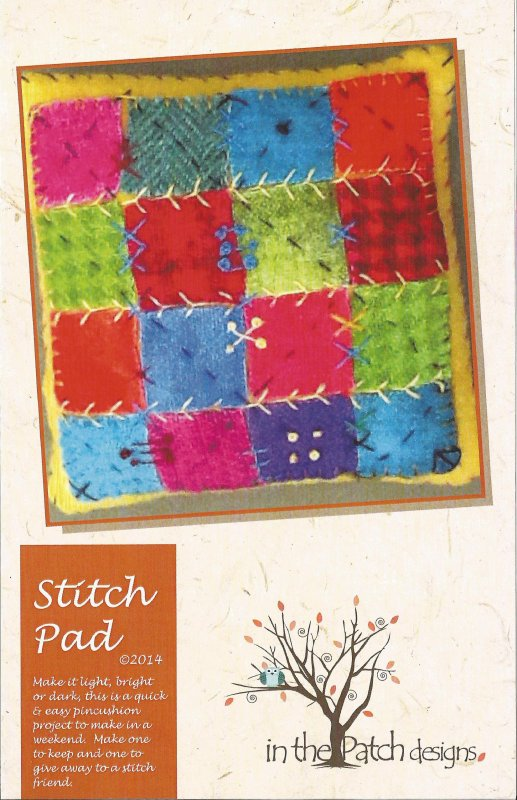 Pincushion - Stitch Pad Pattern/Kit