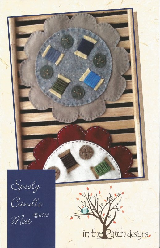 Spooly Candle Mat Pattern