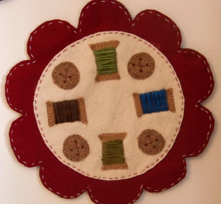 Spooly Candle Mat Kit