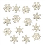 BUTTONS-SNOWFLAKES