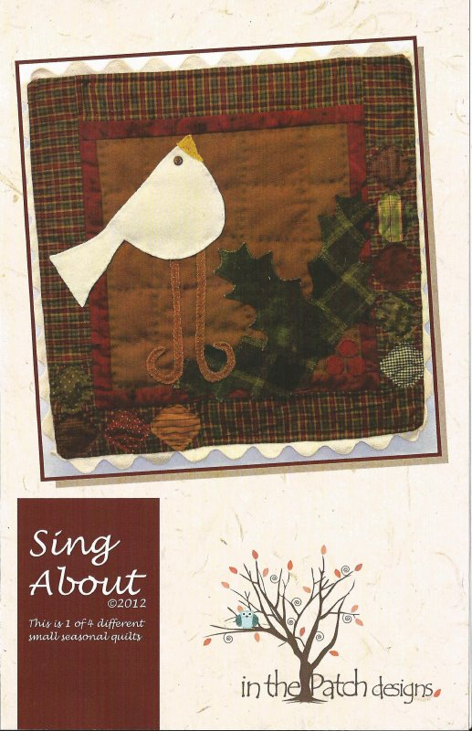 About -- Sing About Quilt Pattern