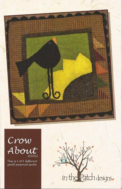 About -- Crow About Quilt Pattern