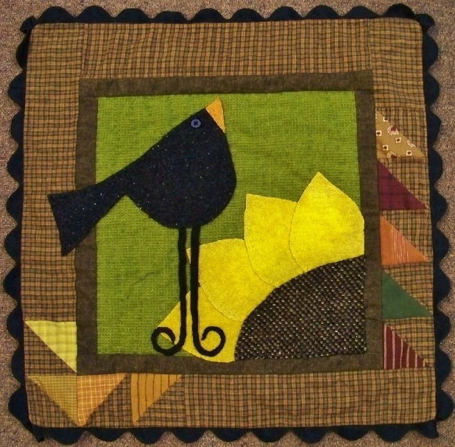 About -- Crow About Quilt Kit