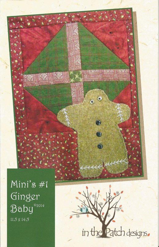 Mini's #1 Ginger Baby-Pattern/Kit