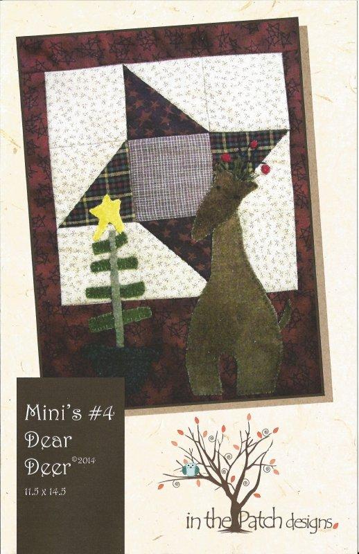 Mini's #4 Dear Deer-Pattern/Kit