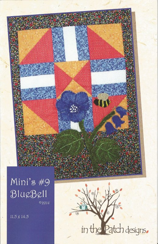 Mini's #9 Bluebells-Pattern/Kit