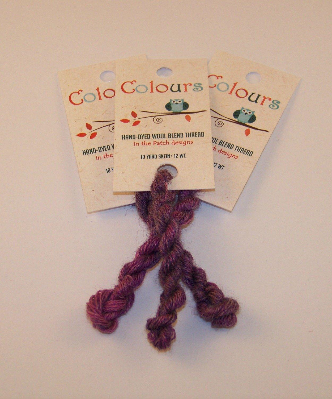 Colours Raspberry-Wool Thread