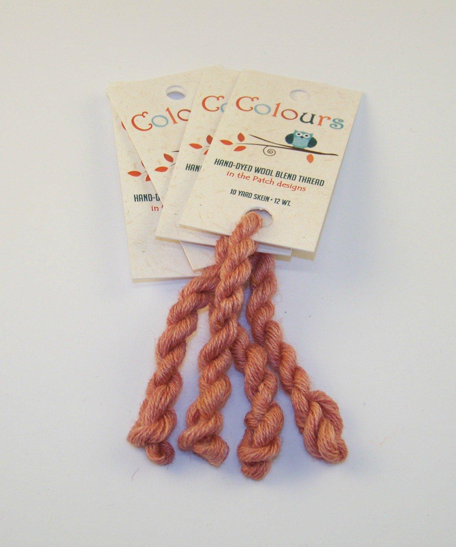 Colours Candied Peach-Wool Thread