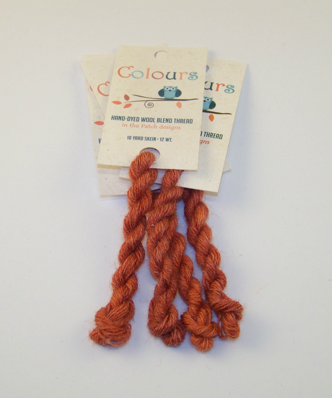 Colours Deep Persimmon-Wool Thread