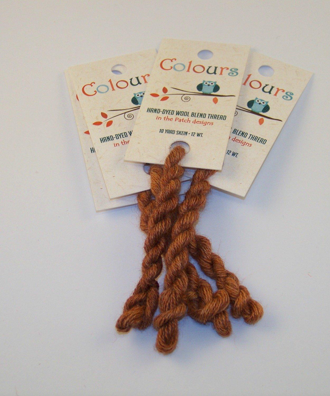 Colours Burnt Orange-Wool Thread