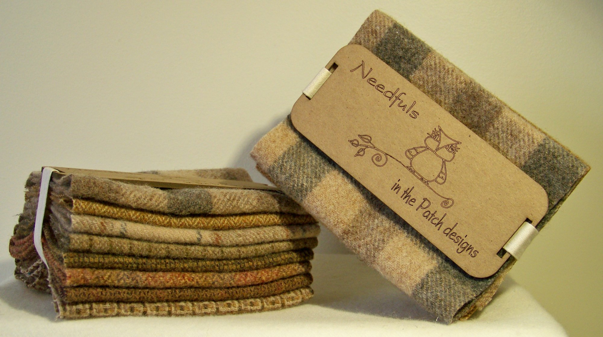 a WOOLEN NEEDFULS-BASKETS