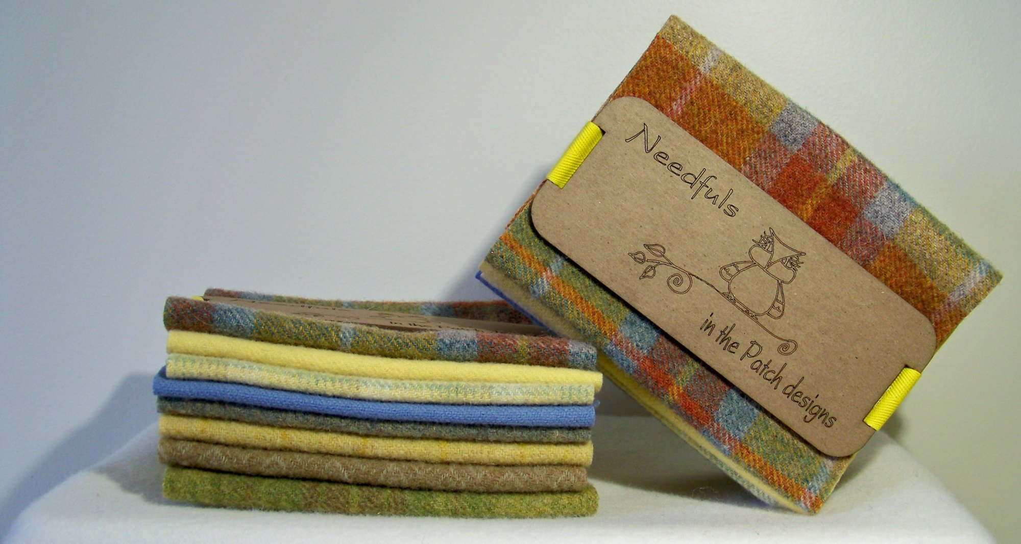 Hand dyed wools projects kits and patterns