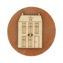 Laser Cut Wooden Buttons-in the Patch designs house