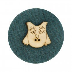 Laser Cut Wooden Buttons-Olivia