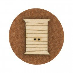 Laser Cut Wooden Buttons-Spooly