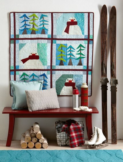 Chillin' in the Woods -- Quilt Sampler 2016 FA/WI (cover project)