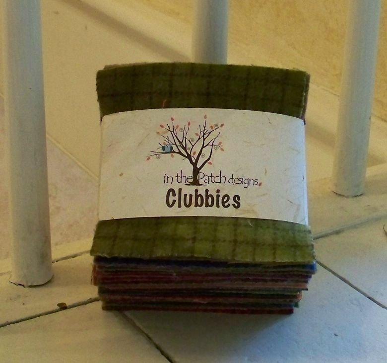 Clubbies -- Dark Wool Charms