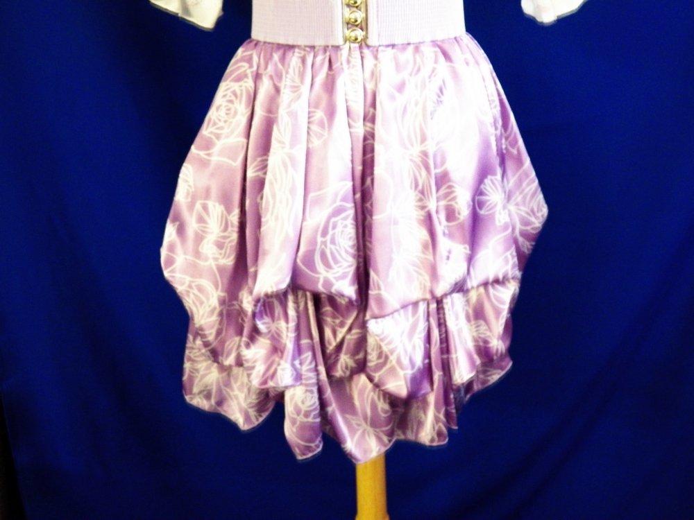 Lilac Puff Skirt