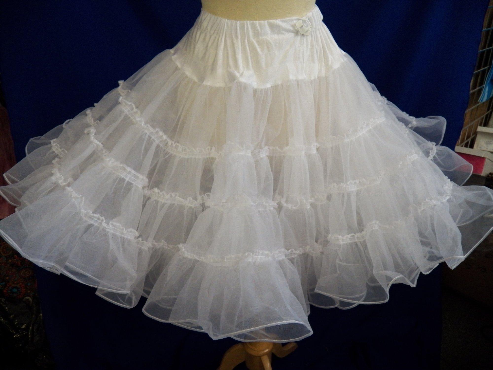 Nylon Organdy Petticoat