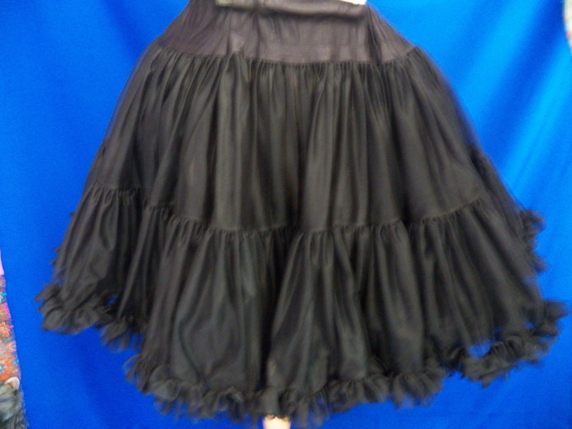 Nylon Chiffon Petticoat