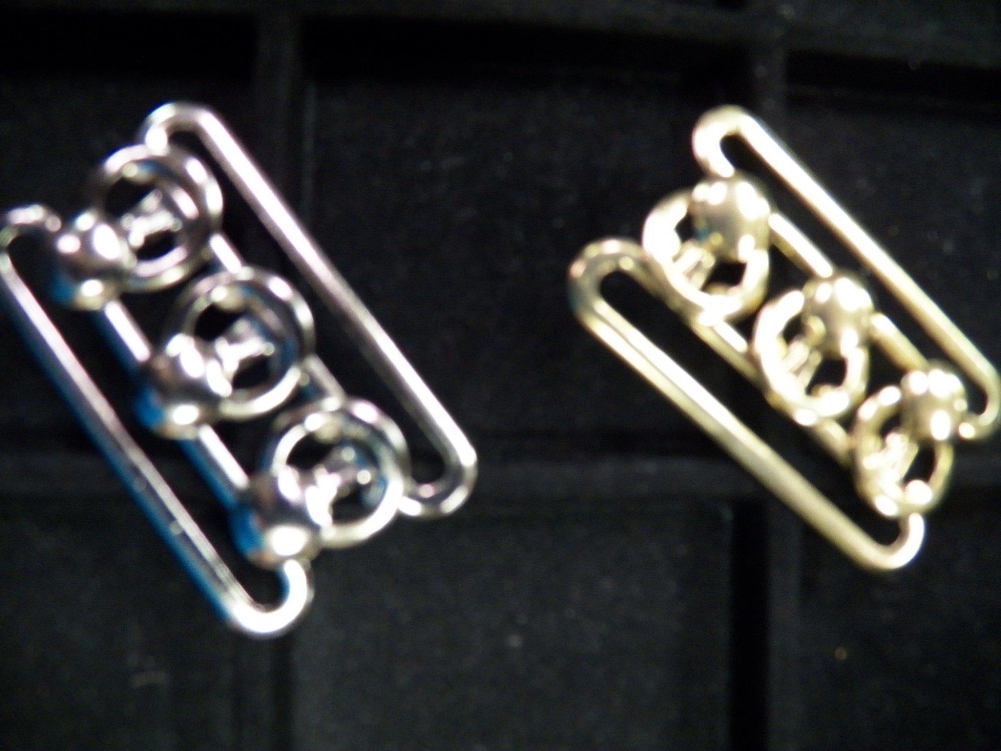 Three-Ring Buckles