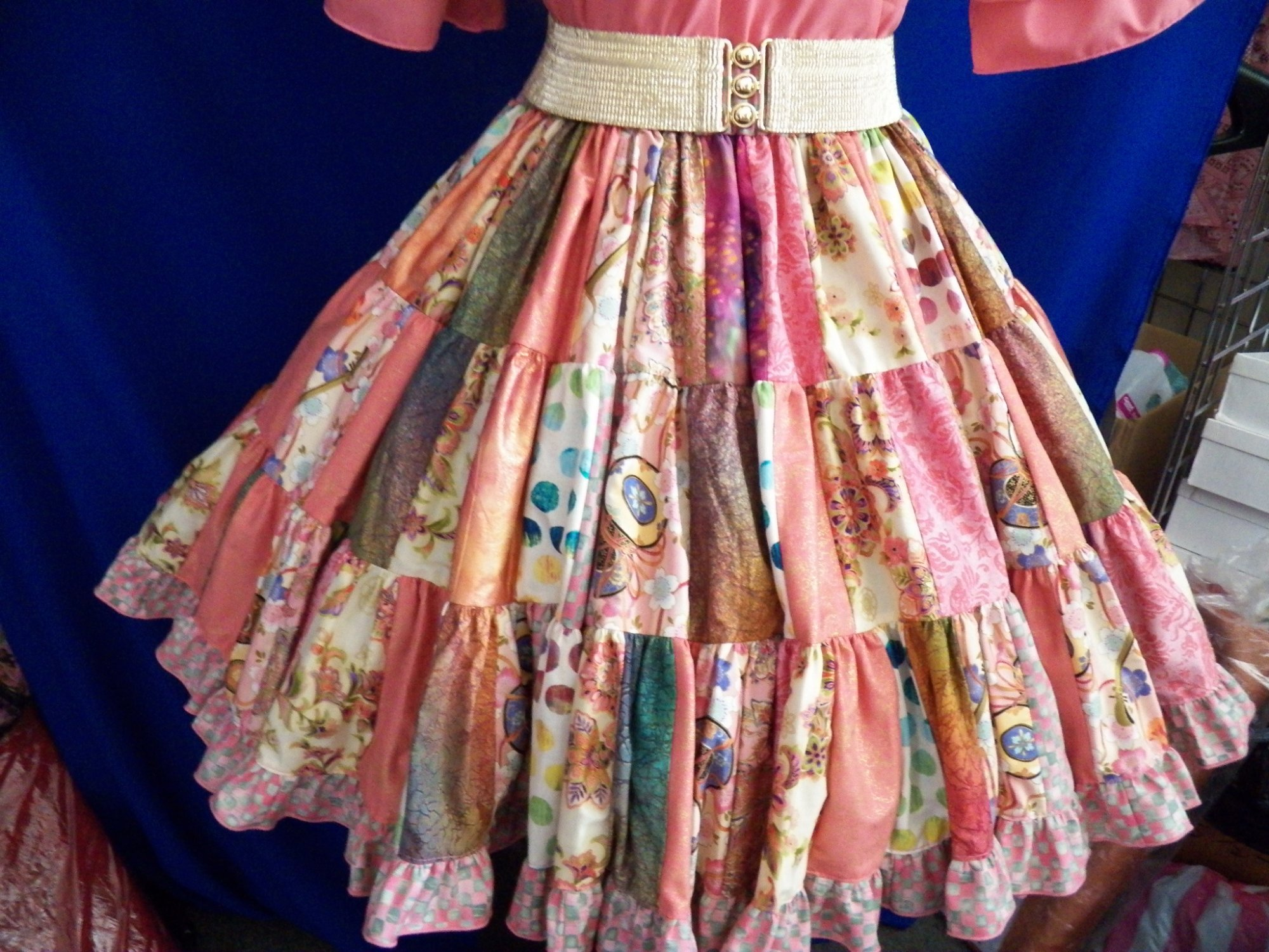Country Rose Patchwork
