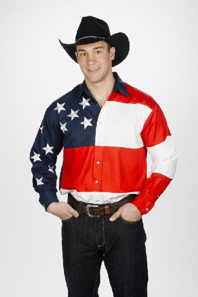 Men's Patriotic Shirt