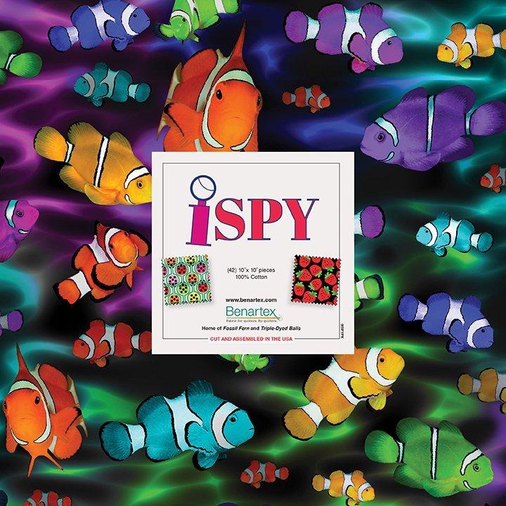 I Spy 10x10 Pack by Benartex