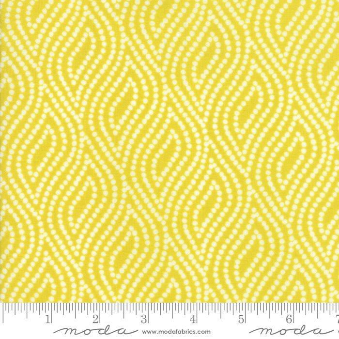 Lemon Dotted Ogee 10075 17 Lazy Days by Gina Martin