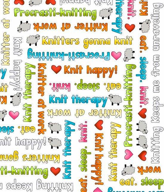 Knit Happy Text 1080-1