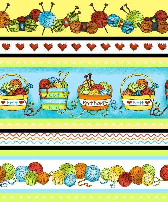 Knit Happy Stripe 1081-10