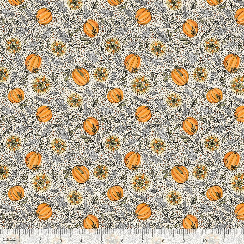 Grey Enchanted Pumpkins by Cori Dantini