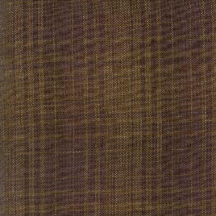 Plaid Brown Texture Wovens
