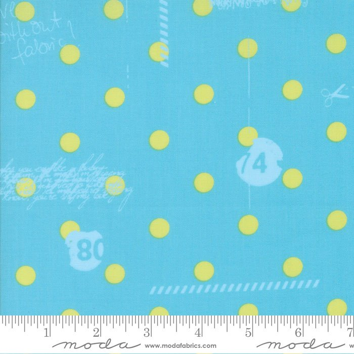Aqua My Polka Dot 1600 16 Hey Dot by Zen Chic