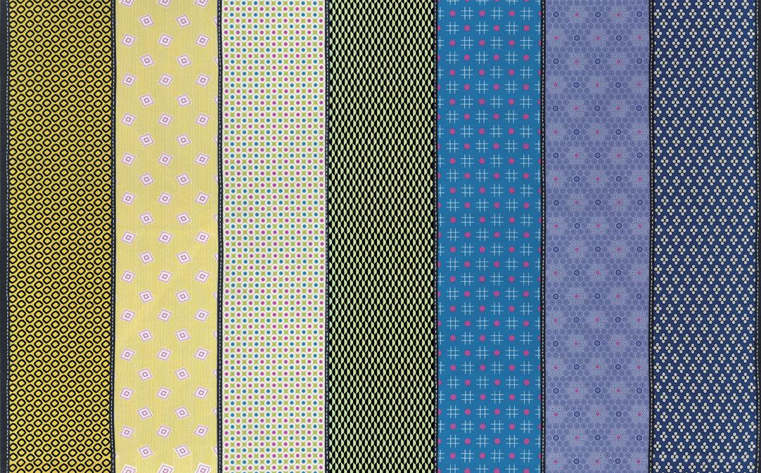 Stripe Multi Bright 18130 12 Lollies Sweetie by Jen Kingwell