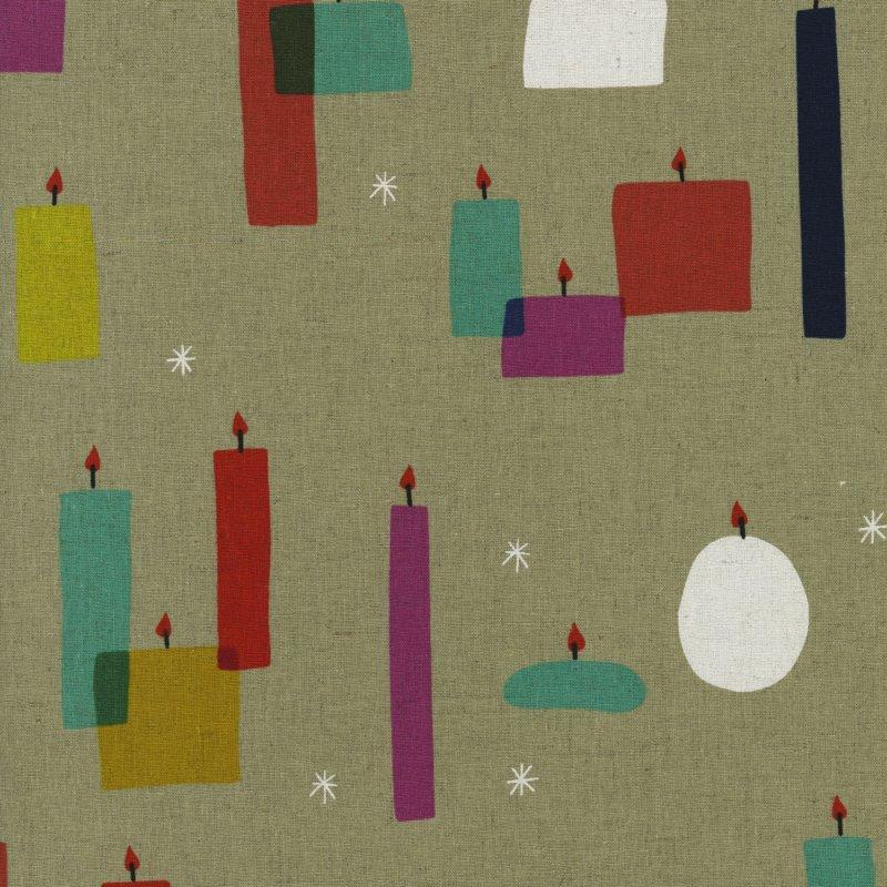 Light A Candle Cotton/Linen Canvas