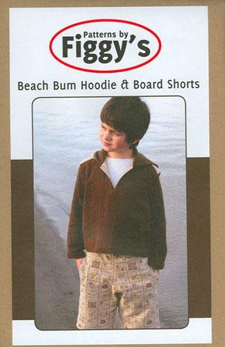 Beach Bum Hoodie and Board Shorts 18M-6/7 Pattern