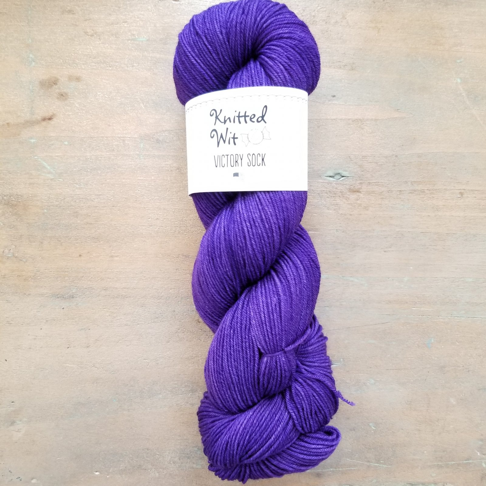 Tanzanite Victory Sock by Knitted Wit